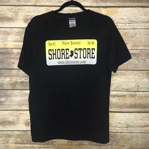 SHORE STORE T-shirt Jersey Shore Black T-Shirt M